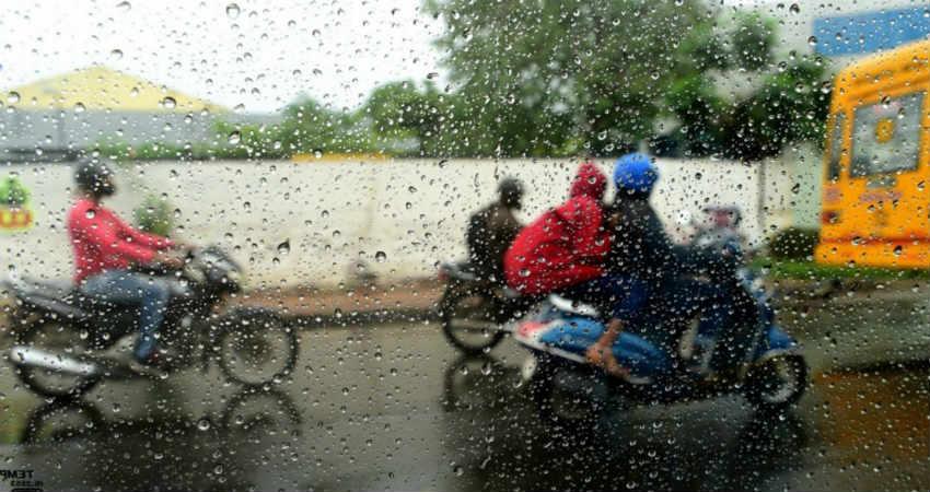 Monsoon Rain in Coastal Karnataka