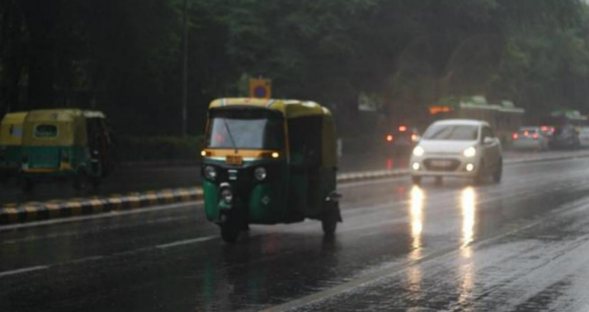 Weather over Northwest India