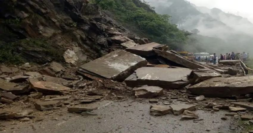 Landslide in Himachal Pradesh