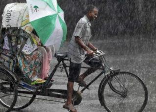 Monsoon rain in Chhattisgarh