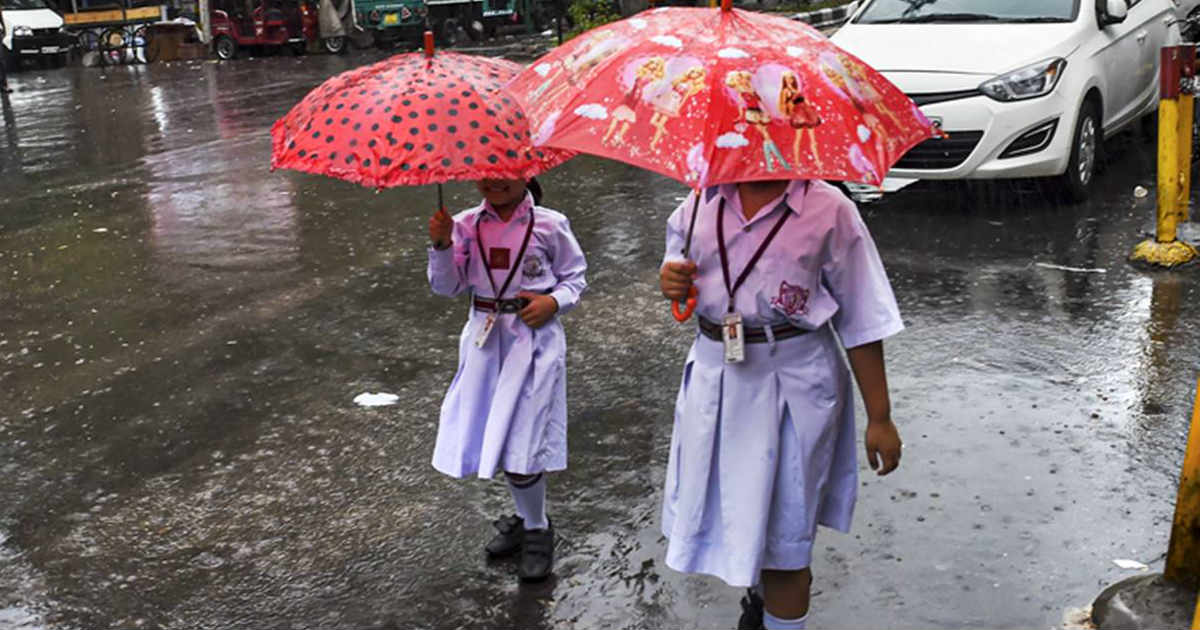Monsoon Rains over Northwest India