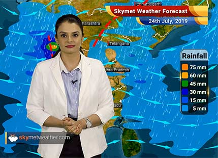 Weather Forecast July 24: Heavy rains in Sub Himalayan West Bengal, Sikkim, Assam, East UP, parts of Bihar