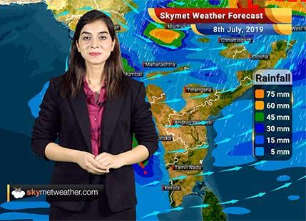 Weather Forecast July 8: Heavy rains over Uttar Pradesh, Bihar and Sub-Himalayan West Bengal