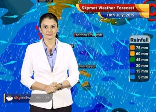 Weather Forecast July 18: Monsoon rains to lash Kerala, alert issued, Rains to continue over Mangalore, Delhi