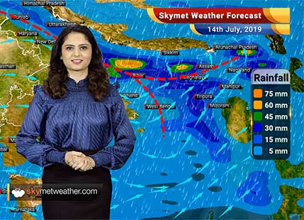 Weather Forecast for July 14: Heavy rains expected in Supaul, Araria, Kishanganj and Siliguri