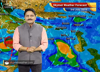 Weather Forecast for July 3: Heavy monsoon rains in Vidarbha, Marathwada and South MP, monsoon reaches in Lucknow