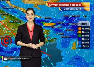 Weather Forecast for July 21: Heavy rain in coastal Karnataka and Kerala