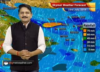 Weather Forecast for July 23: Southwest Monsoon to revive across India, heavy rains to start in Bihar and East UP