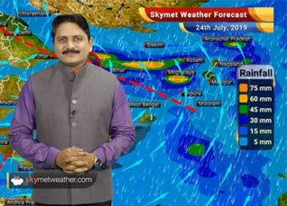Weather Forecast for July 24: Heavy rains in East UP, Bihar and Assam, rain also likely in Delhi and Mumbai