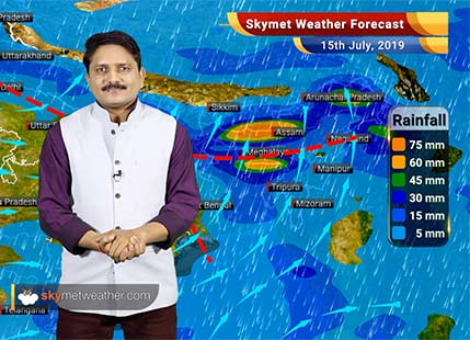 Weather Forecast for July 15: Light rain may appear in Delhi while heavy rain to continue along the foothills