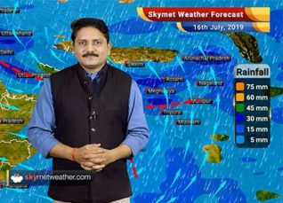 Weather Forecast for July 16: Rains to reduce in east UP and Bihar, Heavy rains likely in Punjab