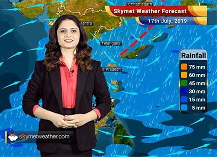 Weather Forecast for July 17: Rains likely in Madhya Maharashtra, Vidarbha and Marathwada