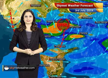 Weather Forecast for July 3: Heavy rains in Vidarbha and Marathwada, Mumbai rains to continue