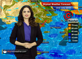 Weather Forecast for July 23: Moderate rain in Madhya Maharashtra, heavy showers in South Konkan