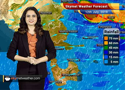 Weather Forecast for July 12: Rains likely in South Konkan and Madhya Maharashtra