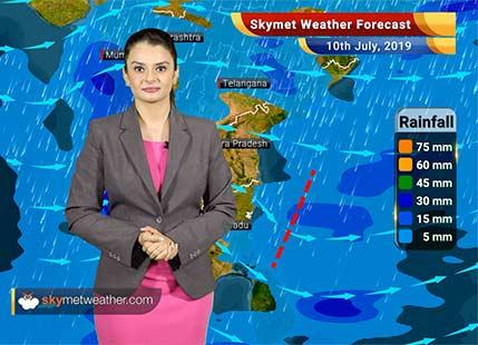 Weather Forecast July 10: Heavy rains in Assam, Meghalaya, Nagaland, rains to intensify in Shimla, Dehradun, Haridwar