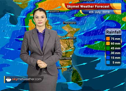 Weather Forecast July 4: Heavy rains to lash Bhopal, Indore and Ujjain, Moderate rains in Mumbai