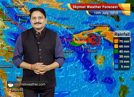 Weather Forecast for July 10: Flooding rains likely in Uttarakhand, Uttar Pradesh, Bihar and Assam