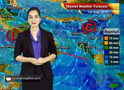 Weather Forecast Aug 1: Rain in Mumbai, Jaipur, Alwar, Delhi, Sagar