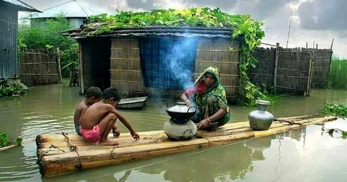 Monsoon Rains in Northeast India