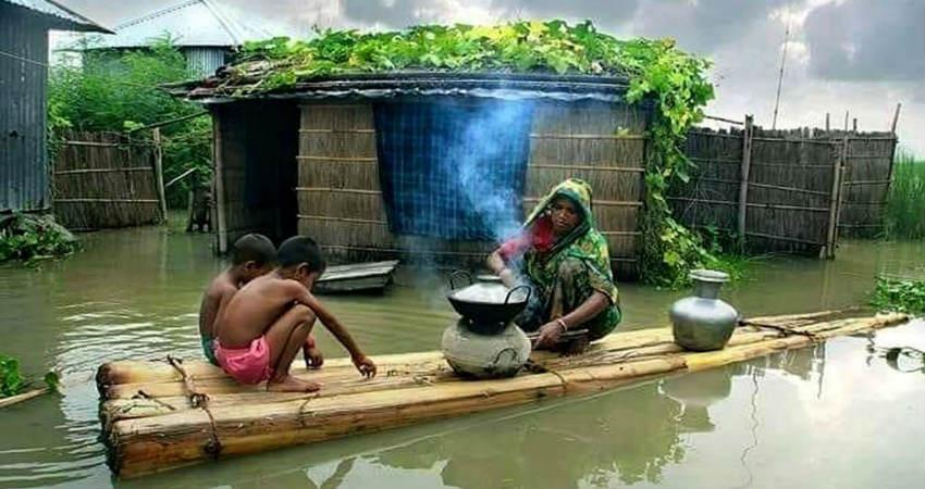 Monsoon Rains in Northeast India