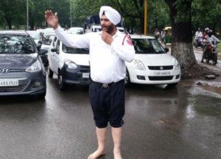 Rain in Chandigarh