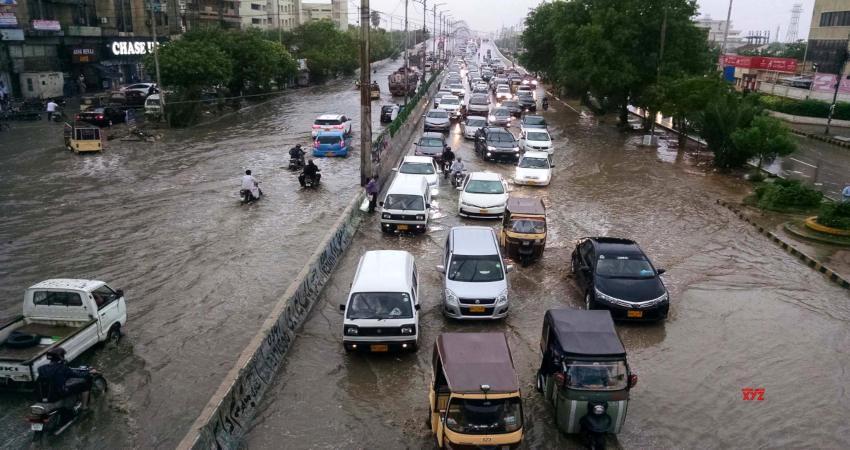 Rain in Karachi