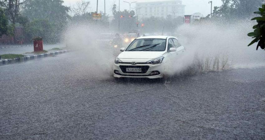 Rain in Udaipur