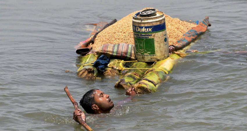Floods in Assam and Bihar