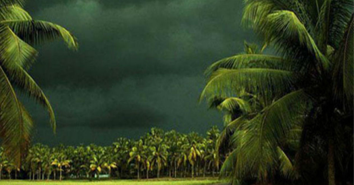 Showers in Kerala