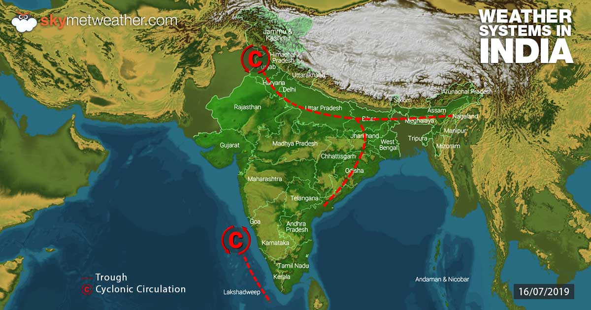 Weather Forecast for July 17 Across India