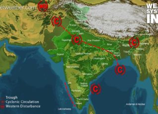 Weather Forecast for July 18 Across India