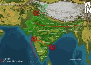 Weather Forecast for July 24 Across India
