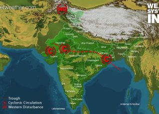 Weather Forecast for July 31 Across India