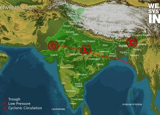 Weather Forecast for August 1, Across India