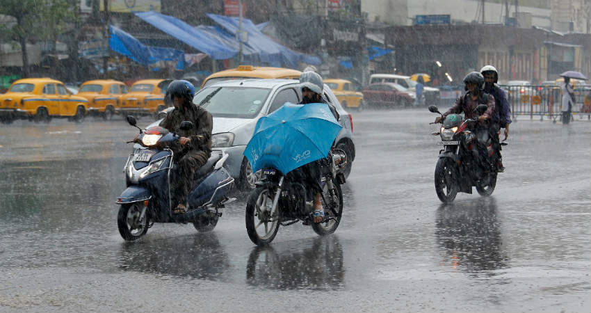 Monsoon Rains in West Bengal and Odisha