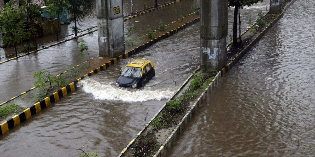 heavy mumbai rains