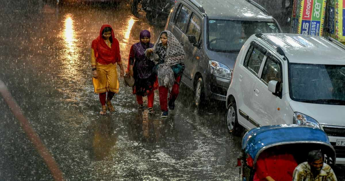 rainfall in Uttar Pradesh