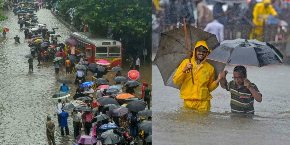 torrential Mumbai rains