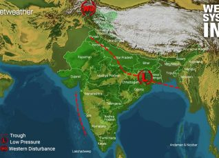 Weather Forecast for August 15 Across India
