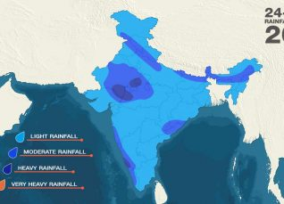 Monsoon Rainfall Forecast August 15