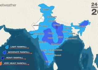 Southwest Monsoon forecast for August 21