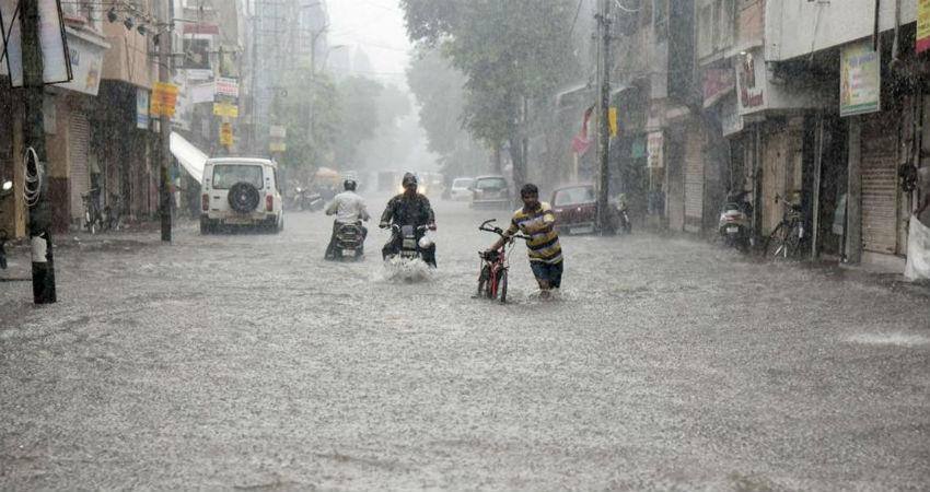 Baroda rains
