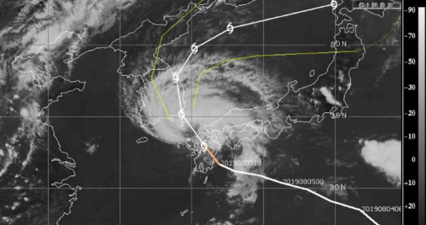 Tropical Storm Francisco