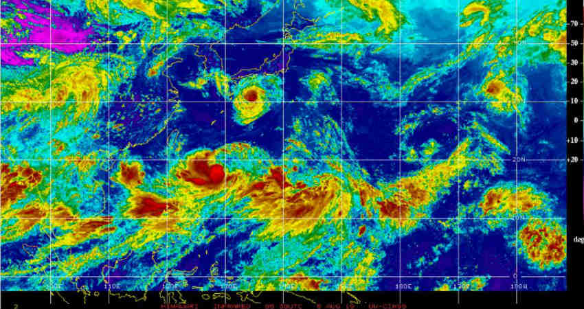 Hat trick of Tropical Storm in Pacific