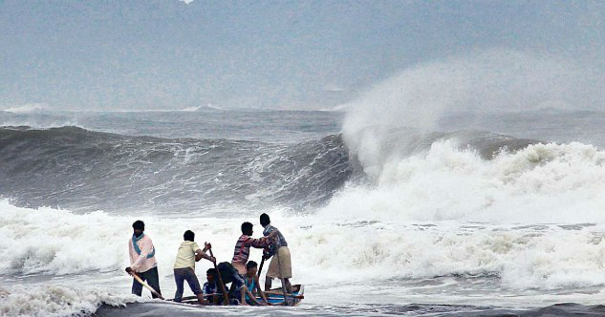 Low pressure system in Bay of Bengal_dailymail 1200