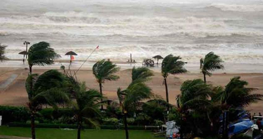Rain in Port Blair