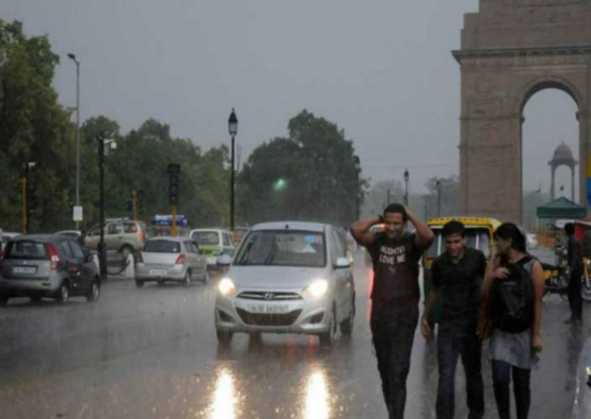 Delhi monsoon rains in 2019 1200