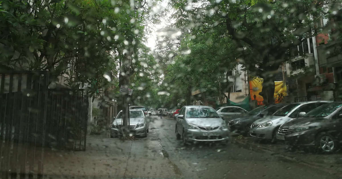 Monsoon Rain in Andhra Pradesh, Telangana