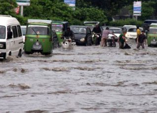 Heavy rain in Punjab